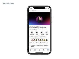 Facebook lance à son tour une fonction pour concurrencer Clubhouse