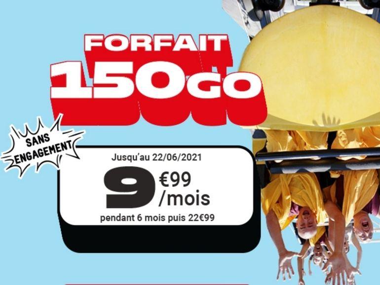 Forfait mobile : 150 Go pour moins de 10 euros chez NRJ Mobile