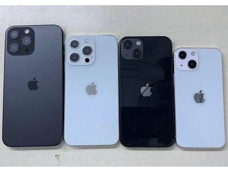 Une maquette de l'iPhone 13 confirme du changement dans la photo