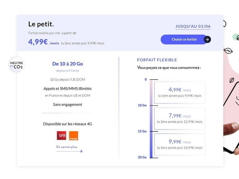 Promo forfait : dernières heures pour profiter de l'offre Prixtel 10 Go à 4,99€ par mois la première année