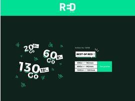 RED by SFR : les forfaits 20 Go, 60 Go et 130 Go sont en promo à partir de 5€/mois