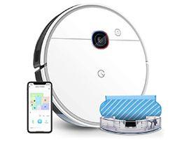 Un robot aspirateur et laveur avec navigation intelligente à 199€