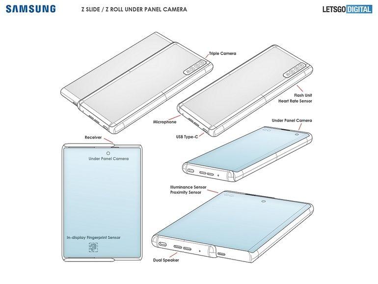 Galaxy Z Roll : Samsung envisagerait sérieusement un smartphone enroulable