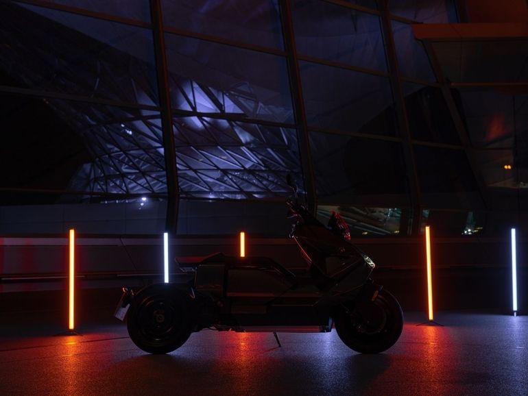 BMW CE 04, le scooter électrique futuriste en précommande