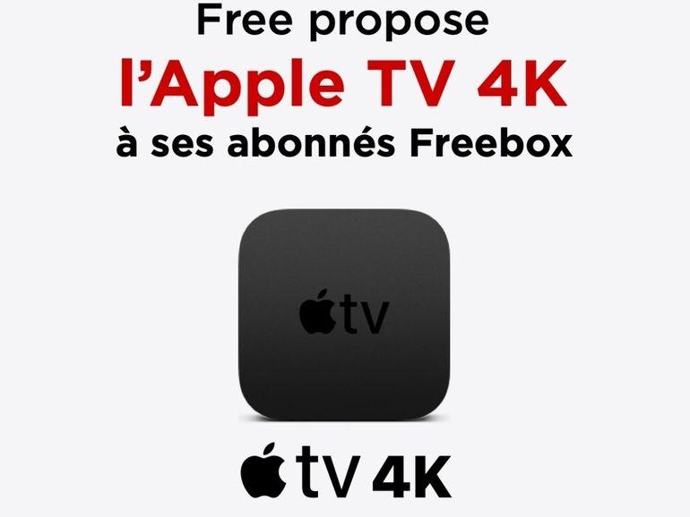 Free : l'Apple TV 4K débarque sur les forfaits Freebox (et ça vaut le coup)
