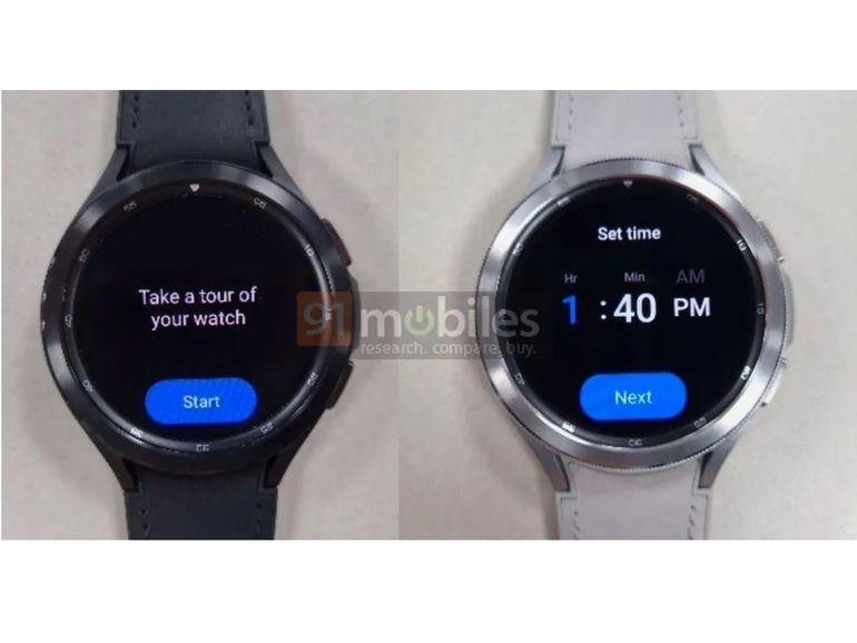 Samsung : la montre connectée Galaxy Watch 4 se dévoile en images