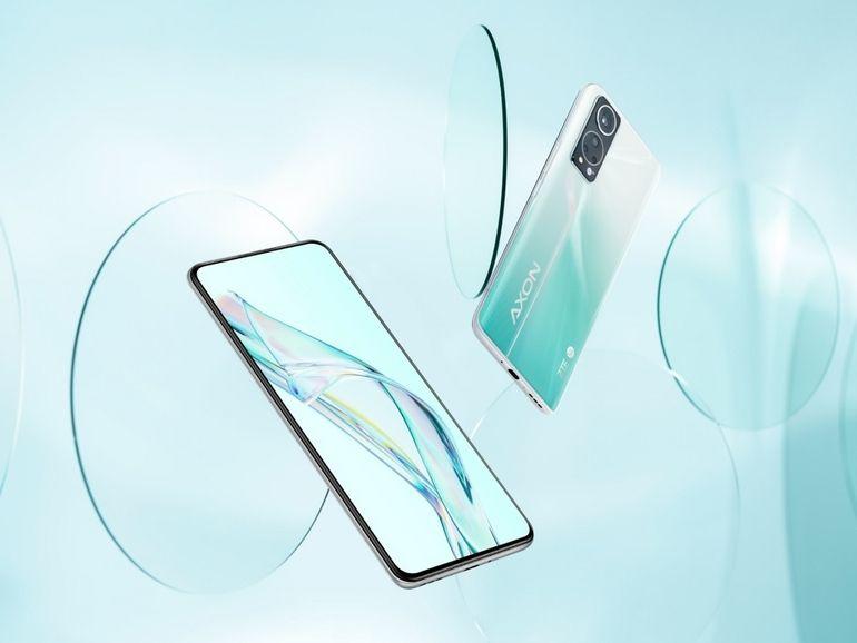 ZTE dévoile l'Axon 30, son nouveau smartphone équipé d'une caméra sous l'écran