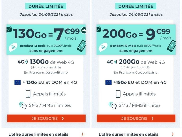 Pas la fibre ? Profitez d'un max de data 4G chez Cdiscount pour moins de 10€
