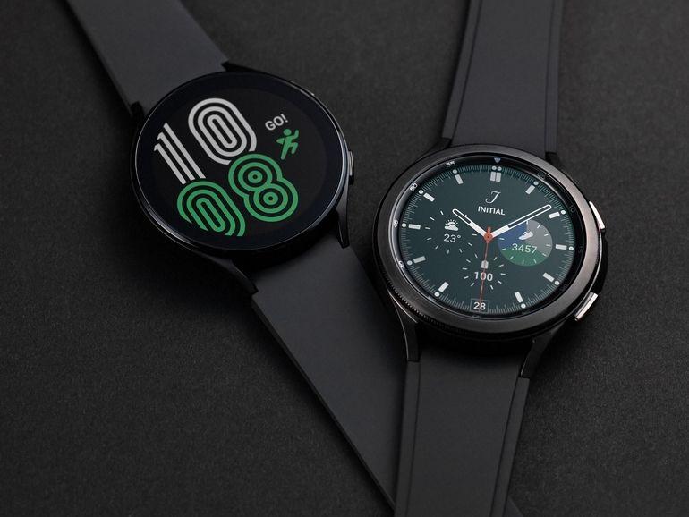 Samsung Galaxy Watch 4 et Watch 4 Classic : cap sur la santé pour contrer l'Apple Watch