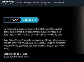 Amazon Prime Video Ligue 1 : comment s'abonner pour voir le foot français ?
