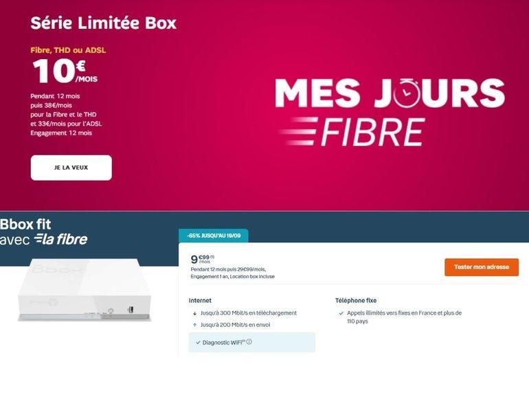 SFR ou Bouygues : quelle est la meilleure box fibre à 10 euros pour la rentrée scolaire ?