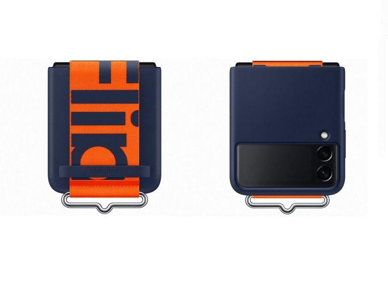 Samsung Galaxy Z Flip 3 : de nouvelles images avec différentes coques de protection avant la présentation