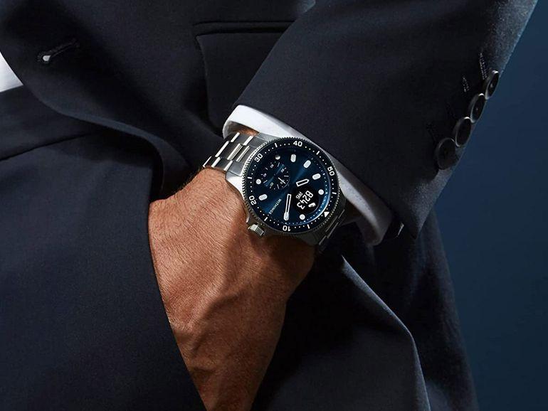 Withings ScanWatch Horizon : la montre connectée santé adopte un design plongée