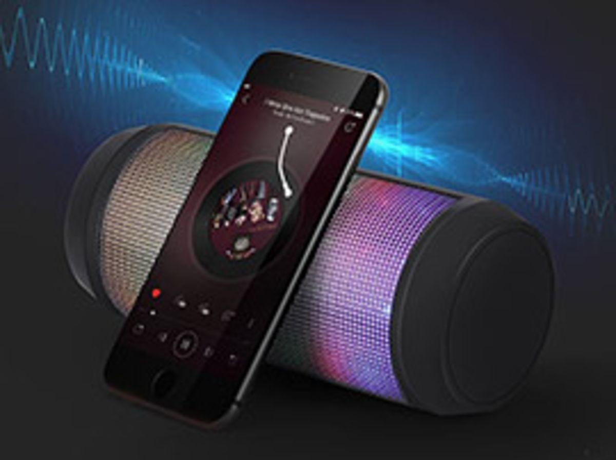 Une enceinte Bluetooth portable avec éclairage 5 modes à 17,99€