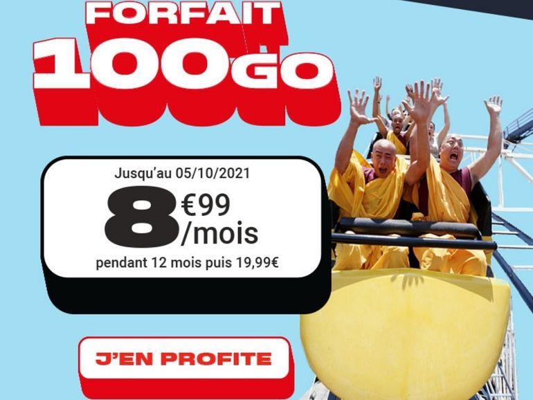 NRJ Mobile : le forfait 100 Go 8,99€/mois, on craque ?