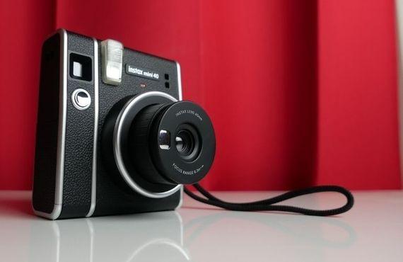 Test - Fujifilm Instax Mini 40 : un Instax Mini 11 dans un écrin vintage