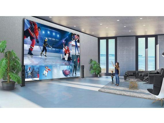 LG DVLED : 8 mètres de diagonale et 1,7 million de dollars pour ce téléviseur hors norme