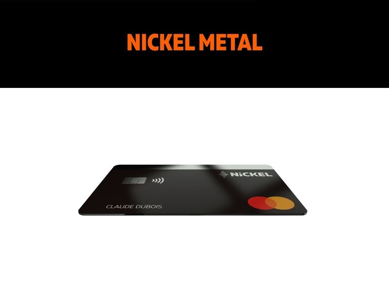 La banque en ligne Nickel ajoute un compte Metal à son offre et l'encaissement des chèques