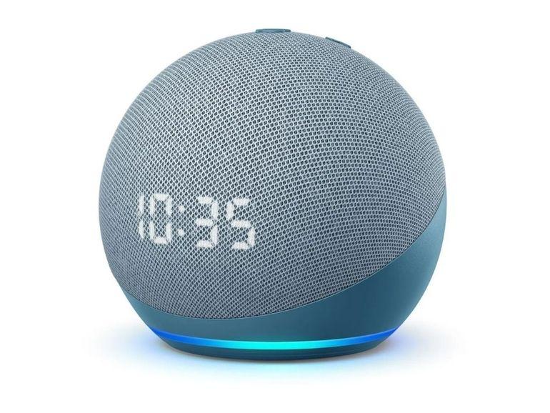 Pour les retardataires, l'Amazon Echo Dot 4 avec horloge est au même prix que pendant les French Days