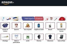 """Amazon fait la part belle au """"Fabriqué en France"""" avec une nouvelle catégorie"""