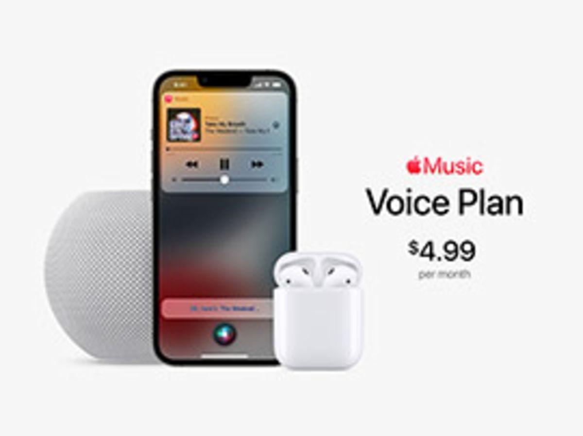 Apple Music : une formule 'Voice' moins chère à 4,99€ via les commandes Siri