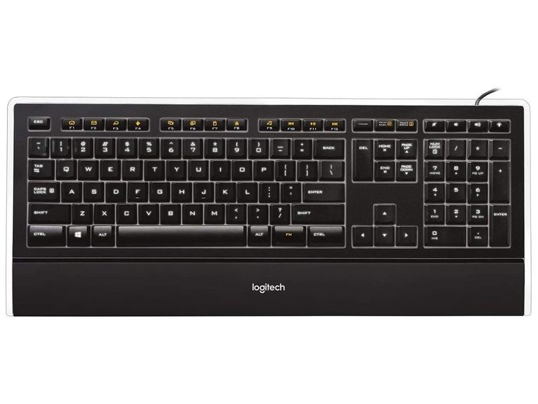 Le clavier rétroéclairé K740 de Logitech est à -39%