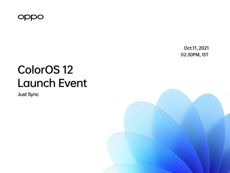 Oppo : ColorOS passe à Android 12 le 11 octobre, comment suivre la présentation des nouveautés