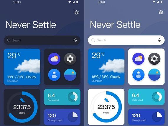 OnePlus présente OxygenOS 12, sa nouvelle interface basée sur Android 12
