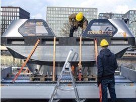 Roboat : le bateau-taxi autonome du MIT fait ses débuts à Amsterdam