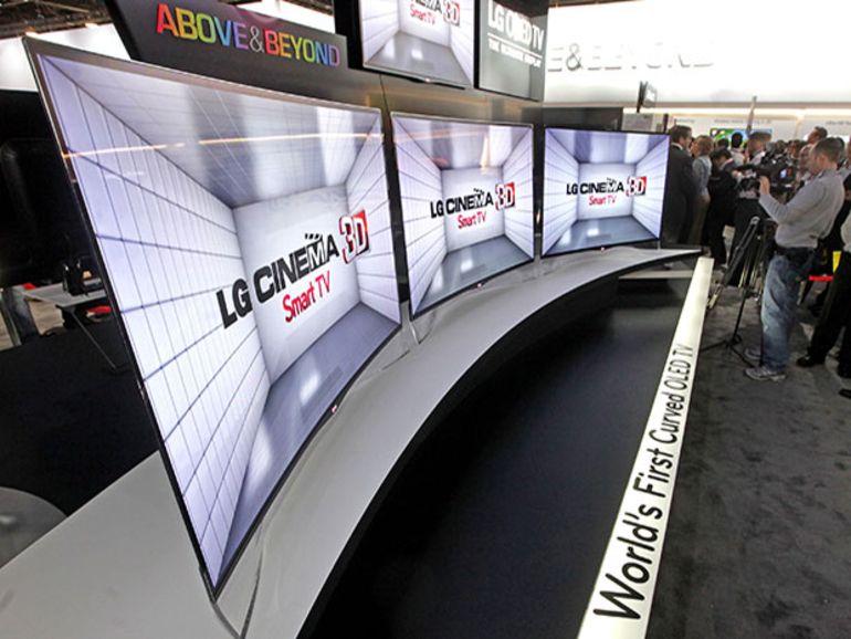 IFA 2014 - LG prêt à commercialiser ses premiers téléviseurs OLED 4K incurvés
