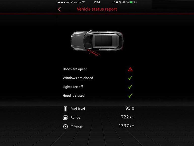 Chez Audi, c'est la voiture qui prend rendez-vous pour la révision