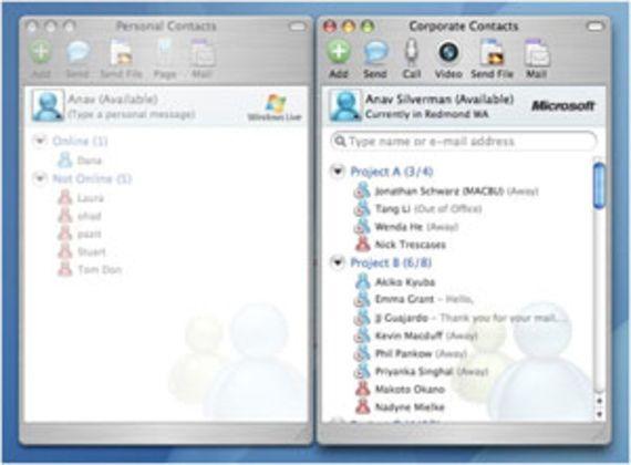 Microsoft Messenger for Mac