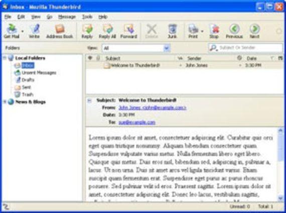 Thunderbird (Windows - Version 3.0.x)