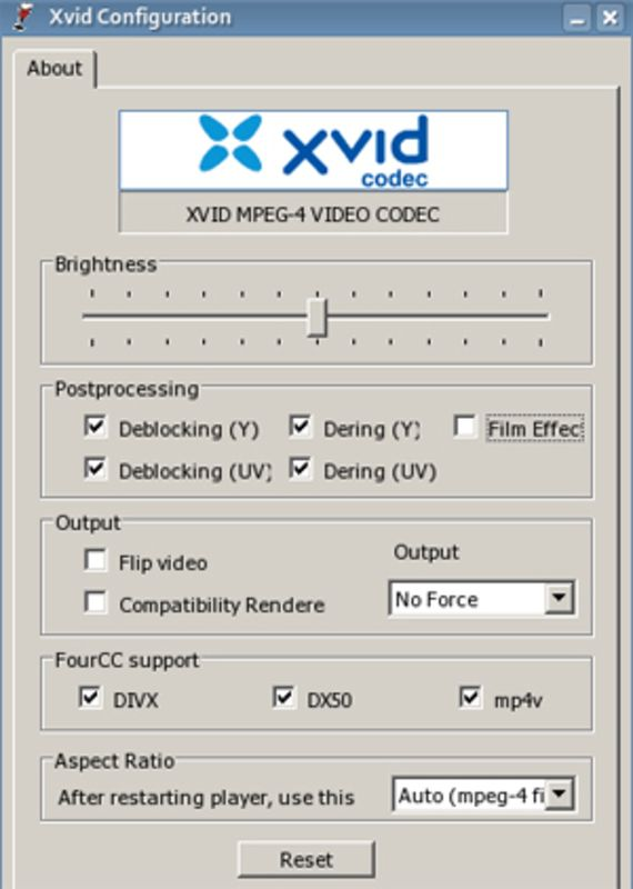 XviD for Windows