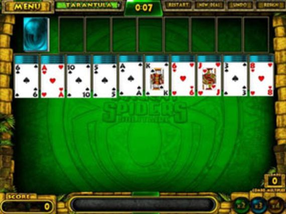 Ancient Spider Solitaire (Mac OS X)