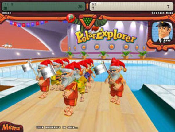 Elf Bowling - Hawaiian Vacation