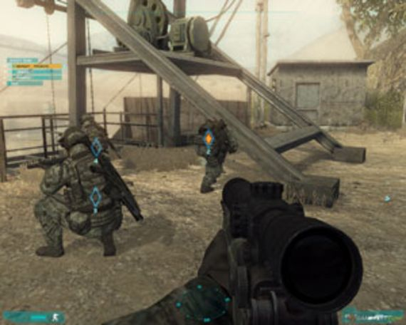 Tom Clancy's Ghost Recon Advanced Warfighter 2 (solo)