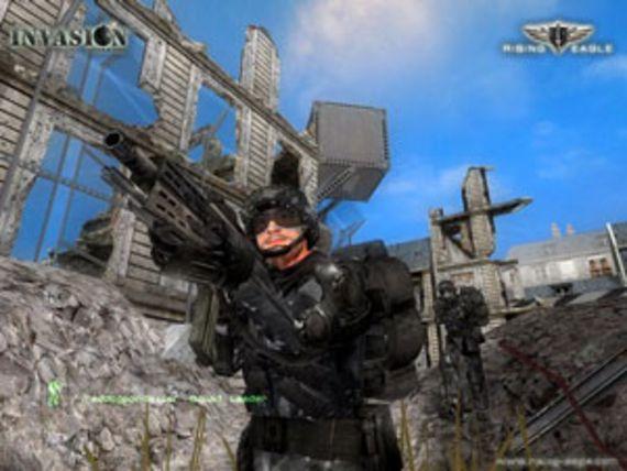 Rising Eagle : Futuristic Infantry Warfare