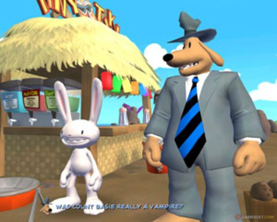 Sam & Max S2 Episode 2 : Moai Better Blues