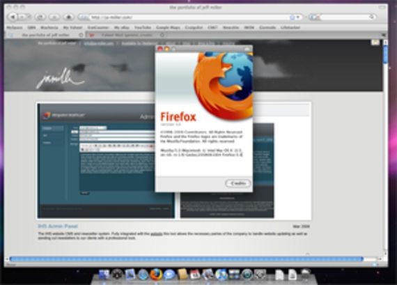 Firefox (Mac OS X - Version 3.5.x)