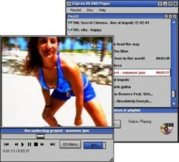 Cliprex DS DVD Player