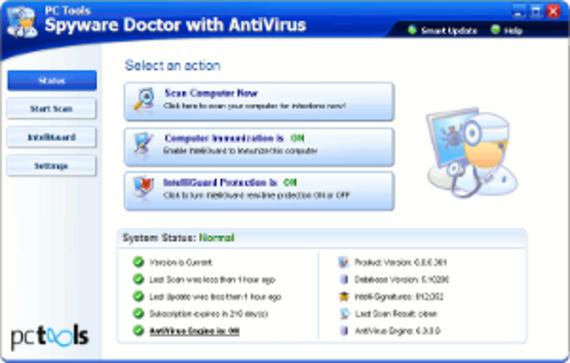 Spyware Doctor avec Antivirus