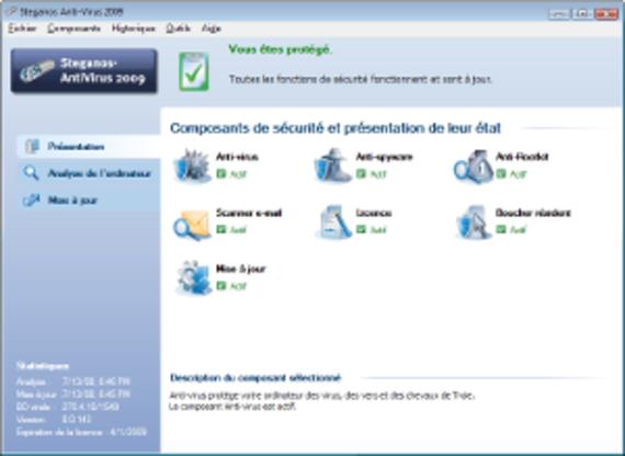 Steganos Antivirus