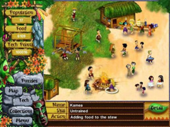 Virtual Villagers 2