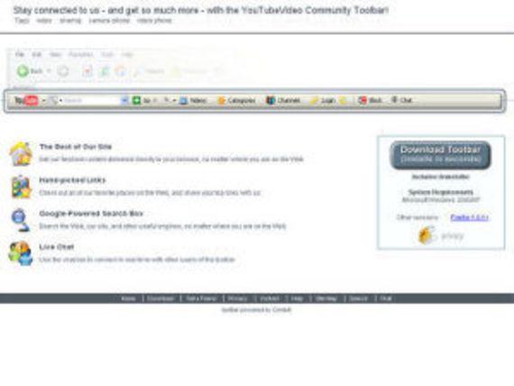 YouTube Video Toolbar