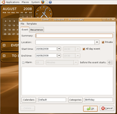 Rainlendar Lite (Linux)