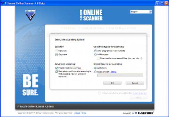psb2 f-secure online scanner