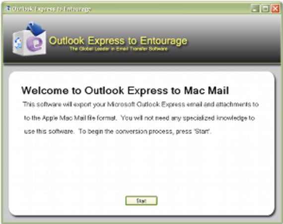 Outlook Express to Entourage