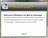 Windows Live Mail to Entourage