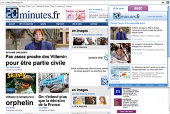 20minutes.fr pour Chrome